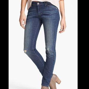 Levis Boyfriend Skinny Blue Jeans 27/32